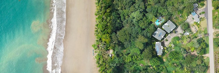 Condos for sale in gated oceanfront community in Costa Rica