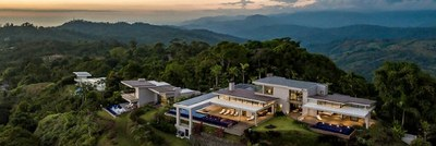 Luxury homes with an oceanview on the mountain top for sale in Costa Rica