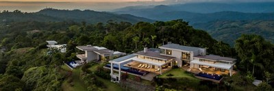 Luxury homes with an oceanview on the mountains for sale in Costa Rica