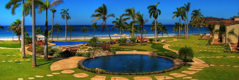 Beach front apartments for sale in playa Flamingo Costa Rica