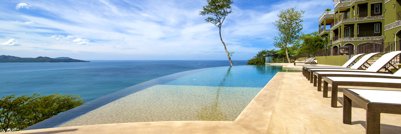 Panorama Flamingo ocean view luxury condos for sale with multiple ocean views in every direction!