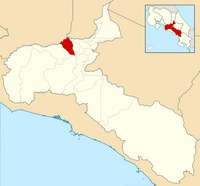 santa ana costa rica map