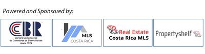 Logos of Propertyshelf MLS, Re.CR, MLS CostaRica.com Official National Real Estate Alliance Partners